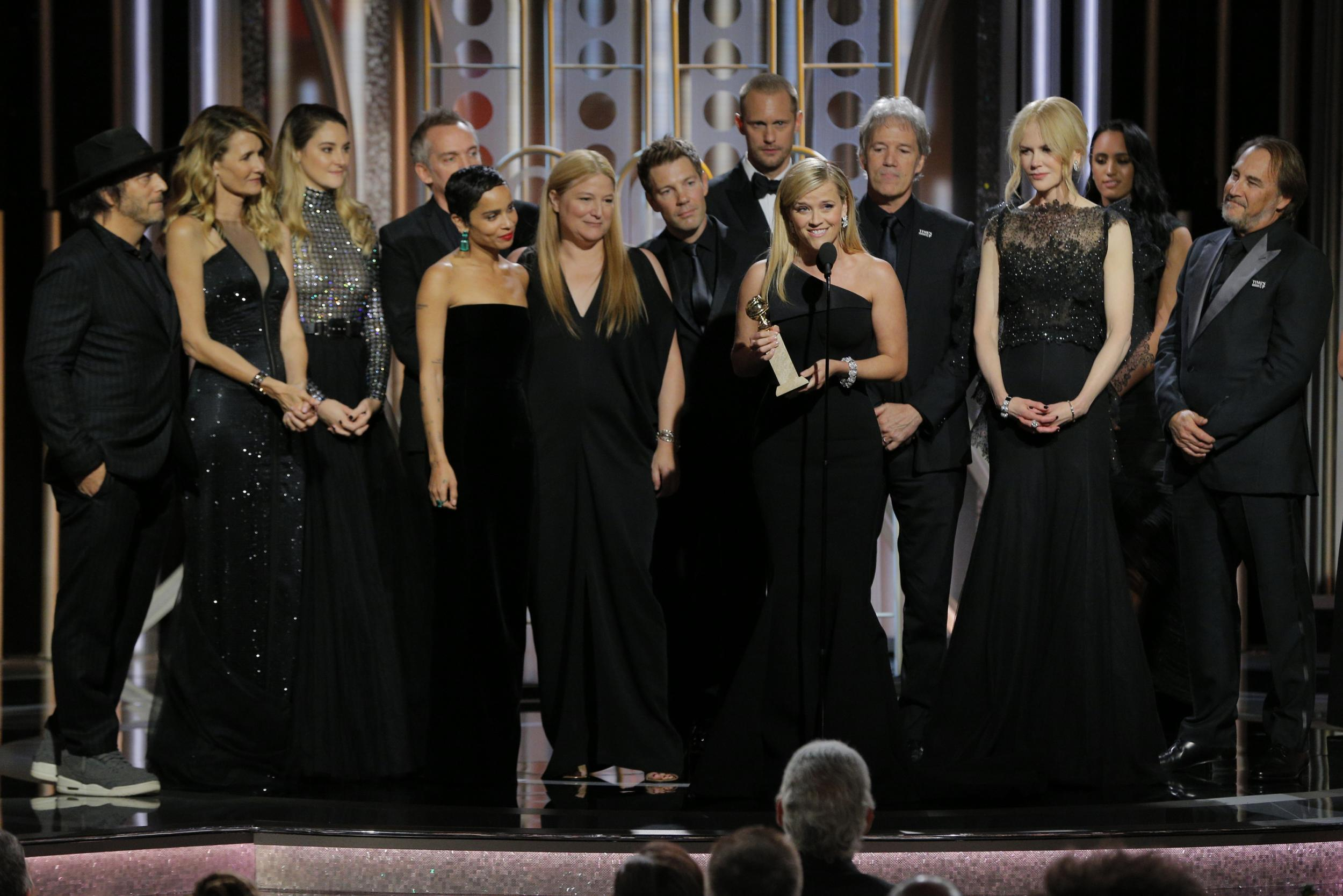 1 - The black dresses at the Golden Globes, 2018