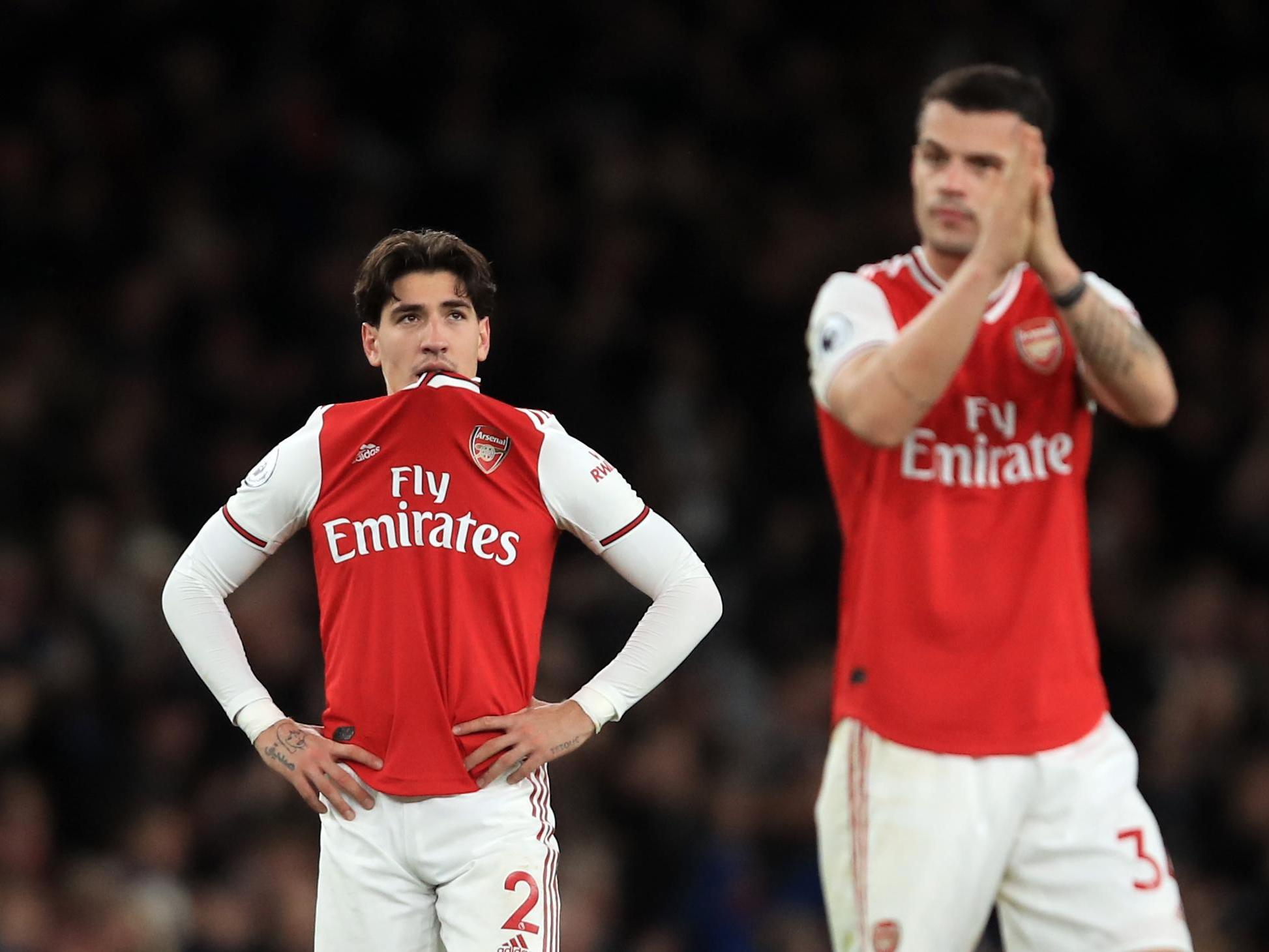 Hector Bellerin 'lost for words' after latest Arsenal defeat adds to worst run in 42 years