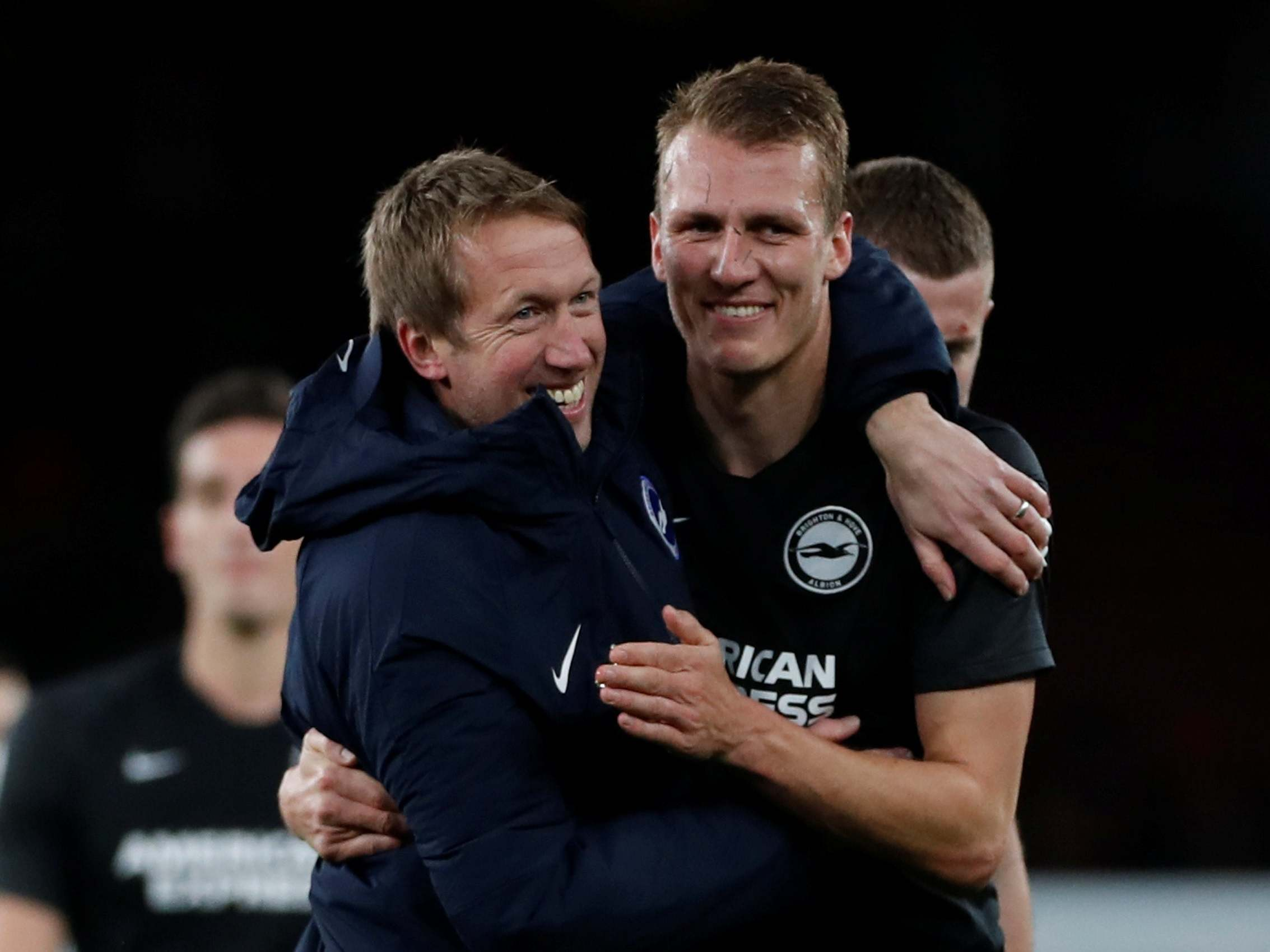 Lifeless Arsenal should take nothing away from what Graham Potter has brought to galvanised Brighton