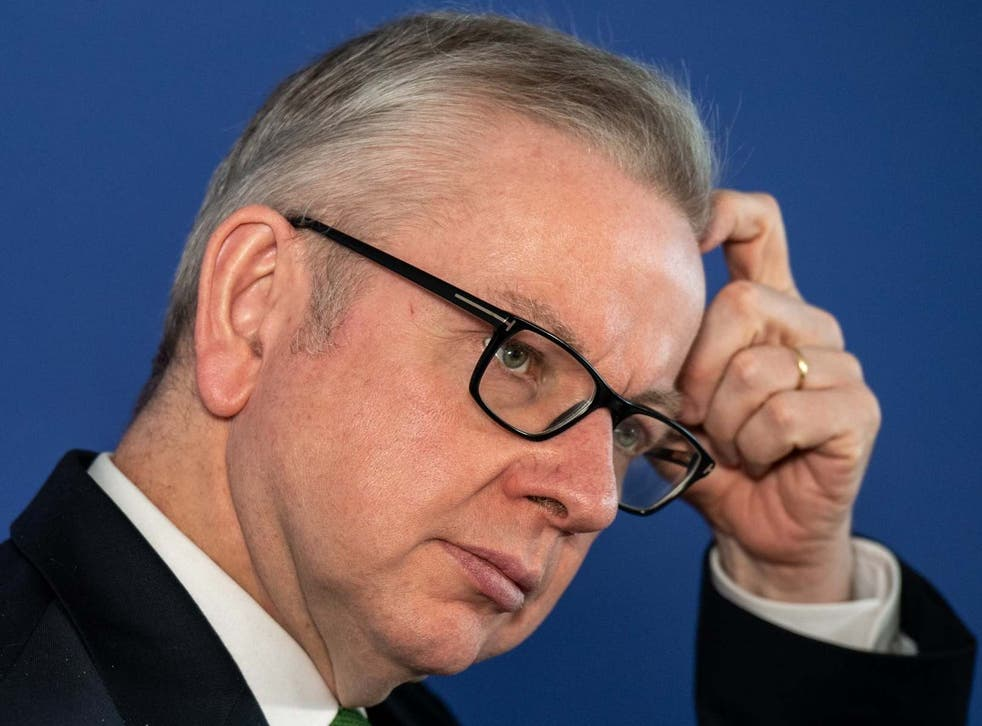 'I am not the prime minister's diary secretary,' Michael Gove says