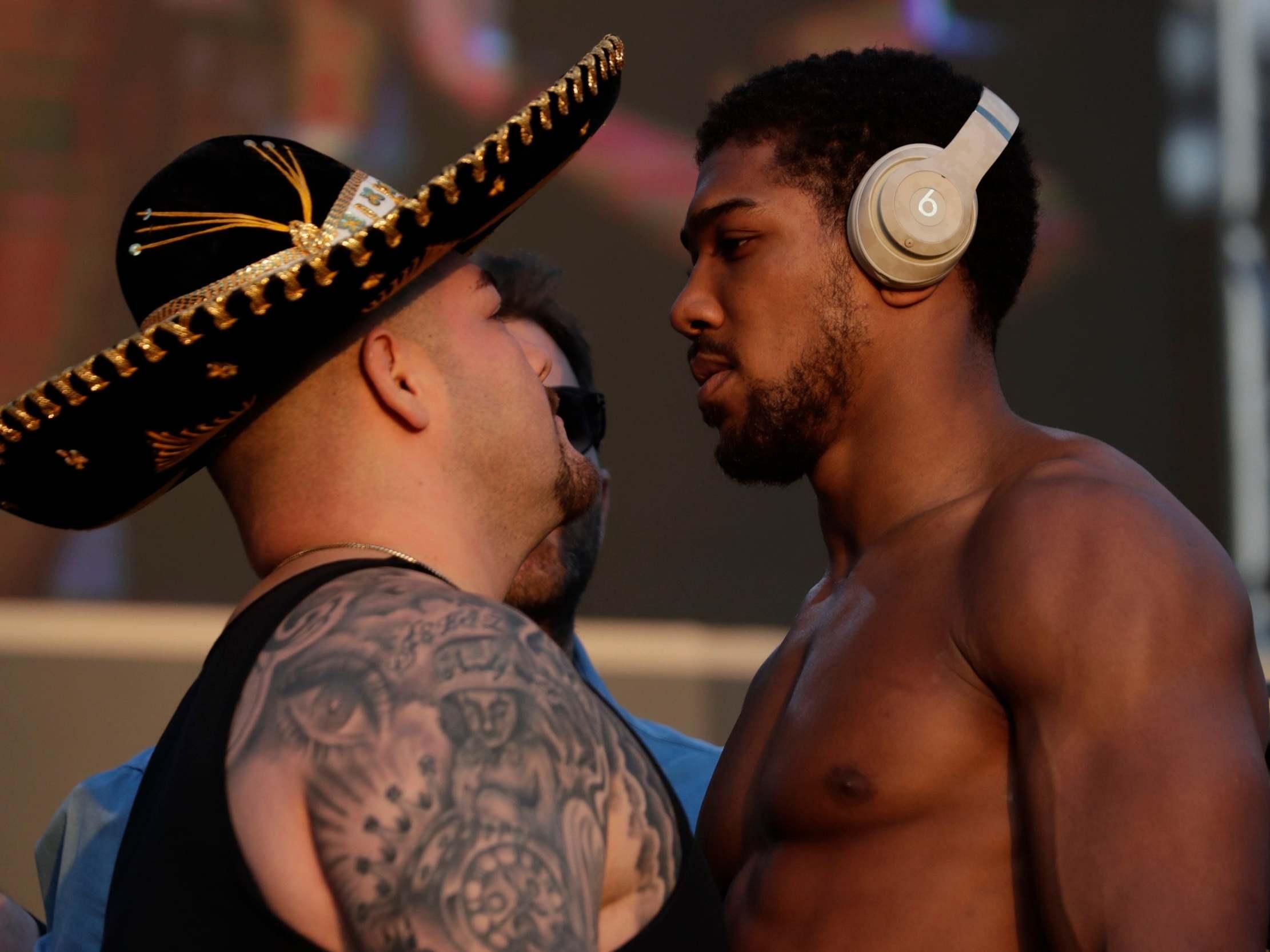 Ruiz vs Joshua 2 LIVE: Watch fight weigh-in latest video stream from Saudi Arabia
