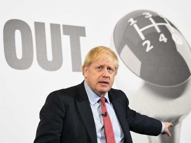 Mr Johnson, who declined an invitation to his local hustings, has been travelling the country as part of his national campaign