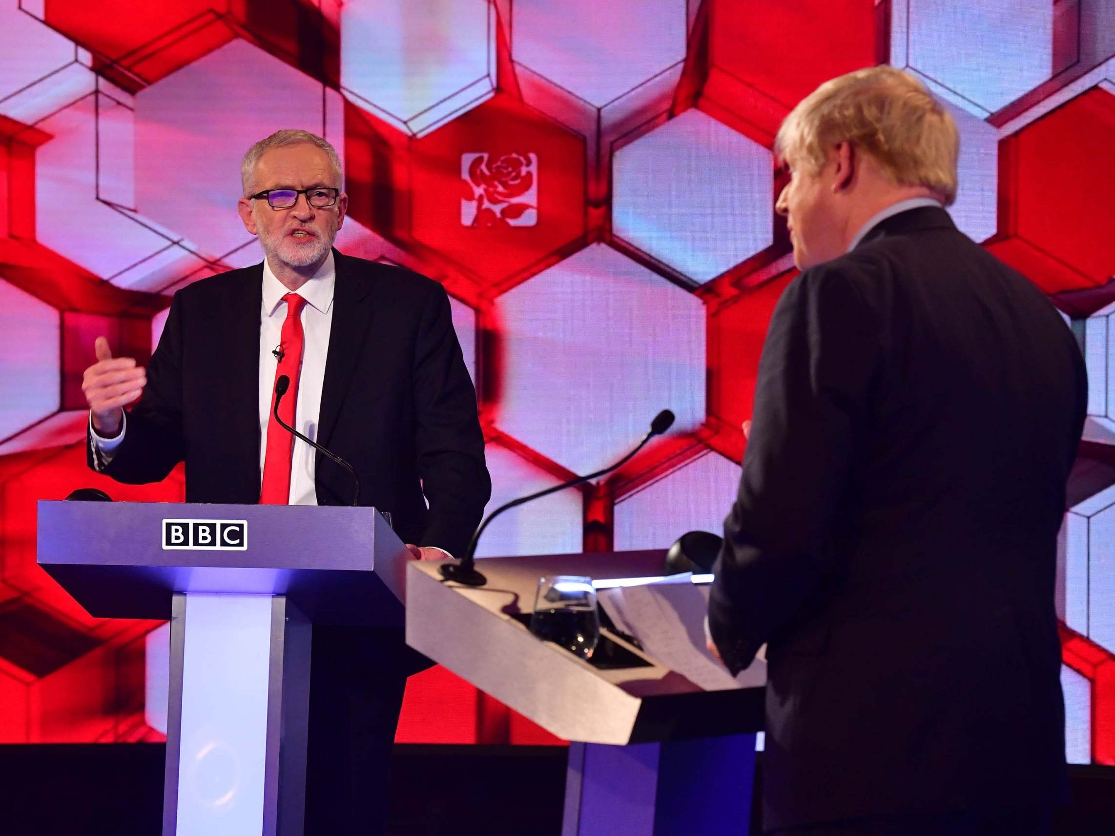 BBC debate: Punch-drunk lightweights Johnson and Corbyn failed to land any blows during the Mumble in Maidstone