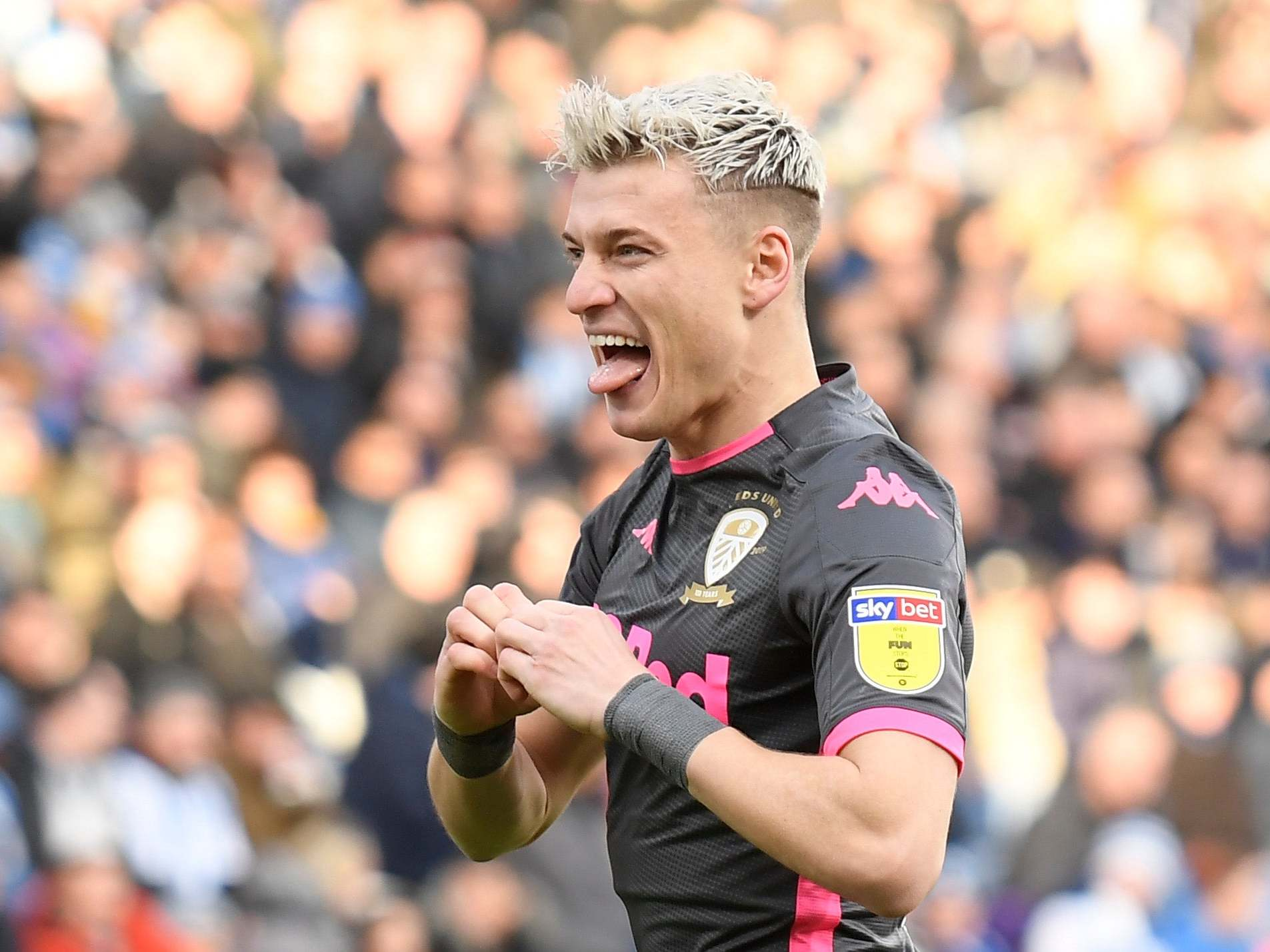 Ezgjan Alioski denies celebrating Leeds United goal with Nazi salute and reveals reason for controversial gesture