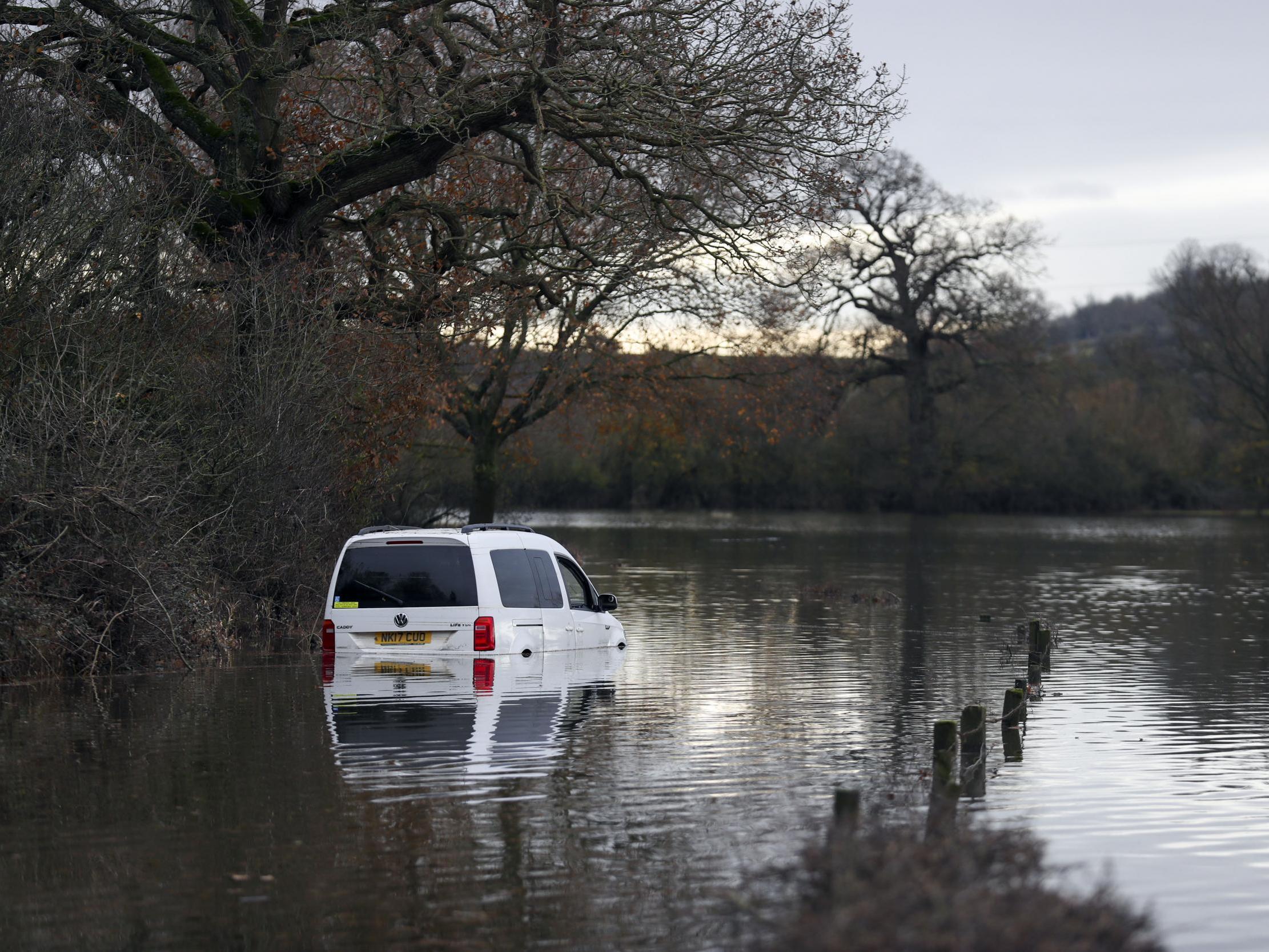 UK weather: Flood warnings issued as Storm Atiyah bears down on Britain
