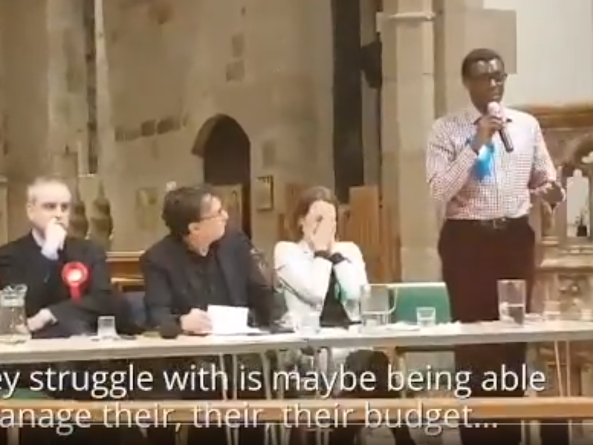 Tory Candidate Suggests People Using Food Banks Cant