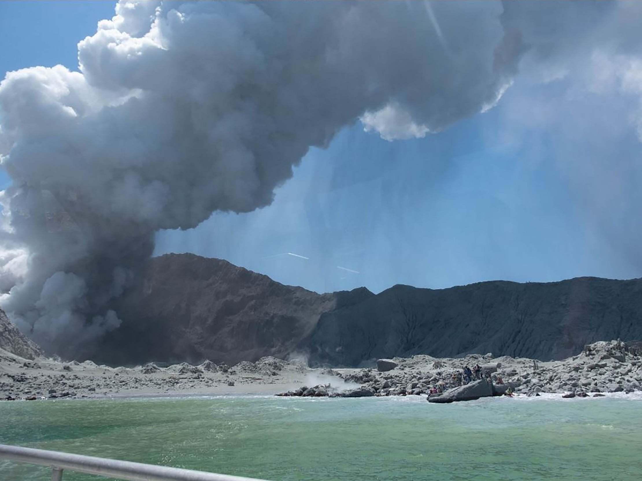 white island volcano