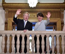 Arlene Foster turns on Johnson, saying he 'broke his word' on Brexit