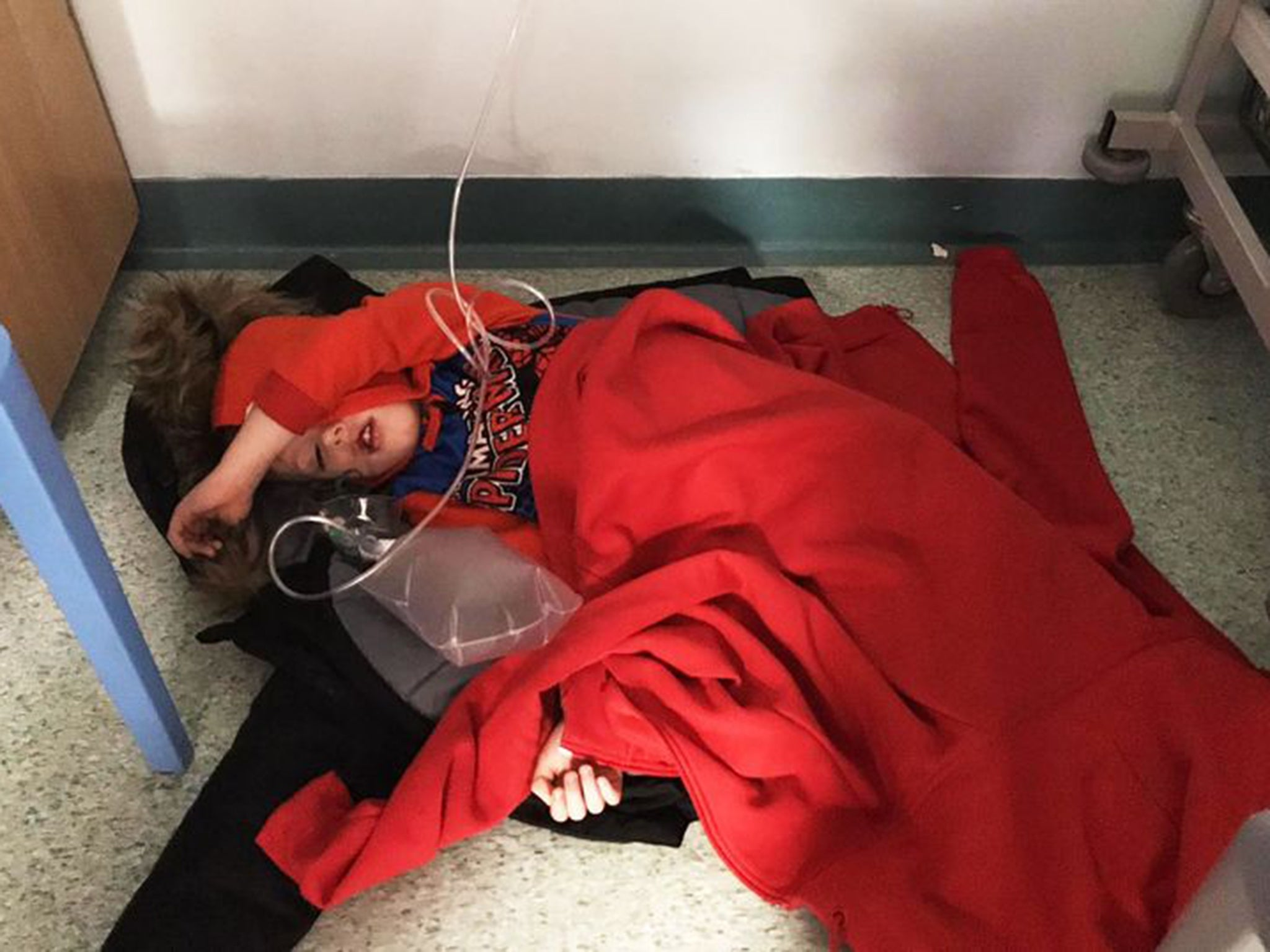 The photo of an NHS in crisis that Boris Johnson refused to look at……