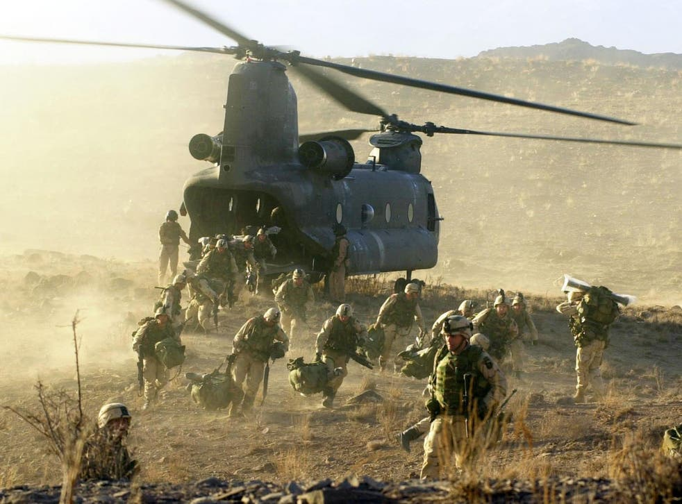 The US has lost over 2,300 troops in the course of the Afghan war