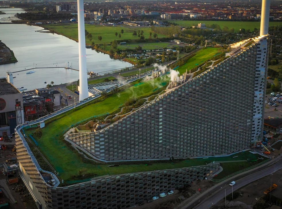 Copenhill is one of the city's most innovative projects