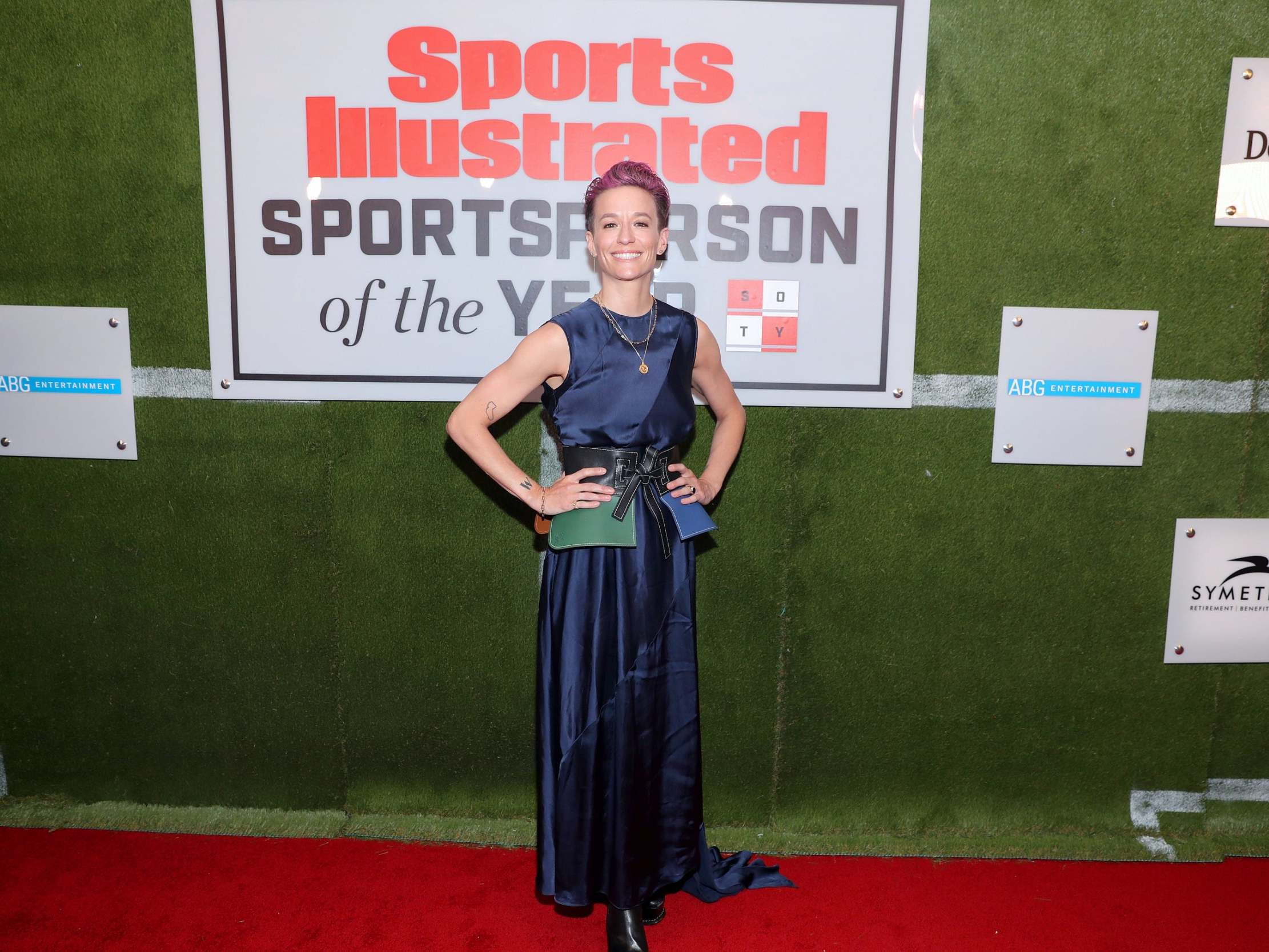 Megan Rapinoe named Sports Illustrated Sportsperson of the Year after achievements 'under attack by a world leader'
