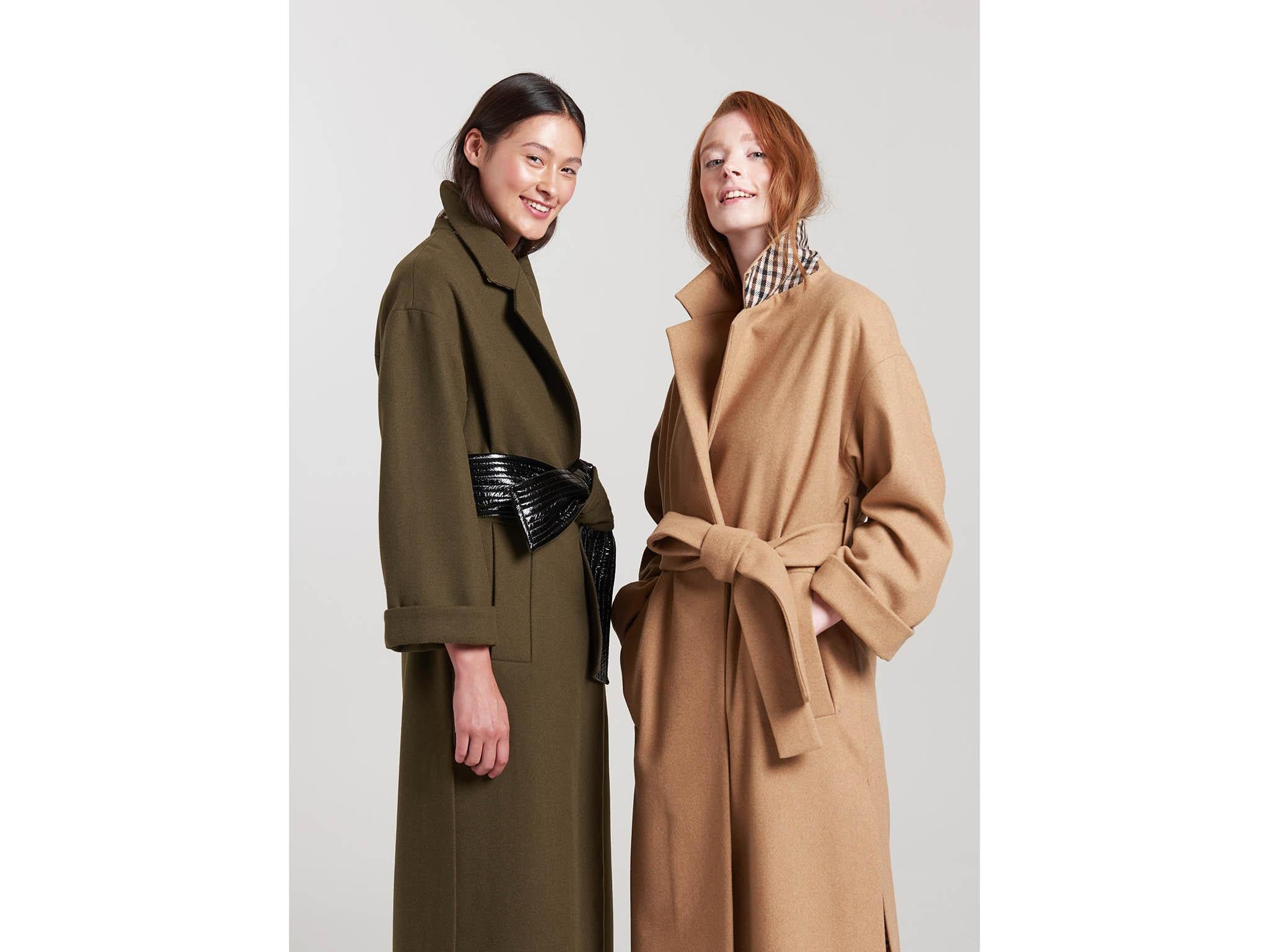 Cheap Long Light Down Winter Coats For Women Coffee Brown