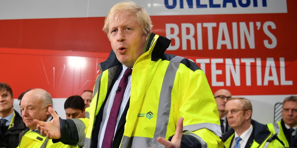 Boris Johnson left speechless when asked why no Tory candidates in S…