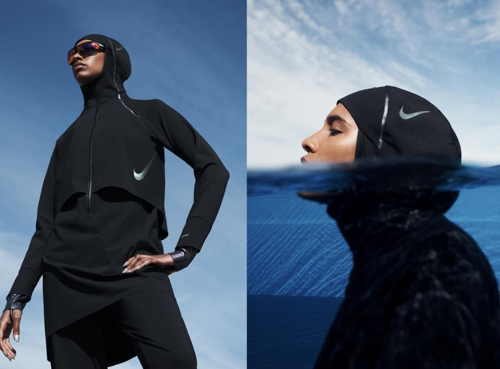 Nike launches first ever hijab for female swimmers | The Independent | The  Independent