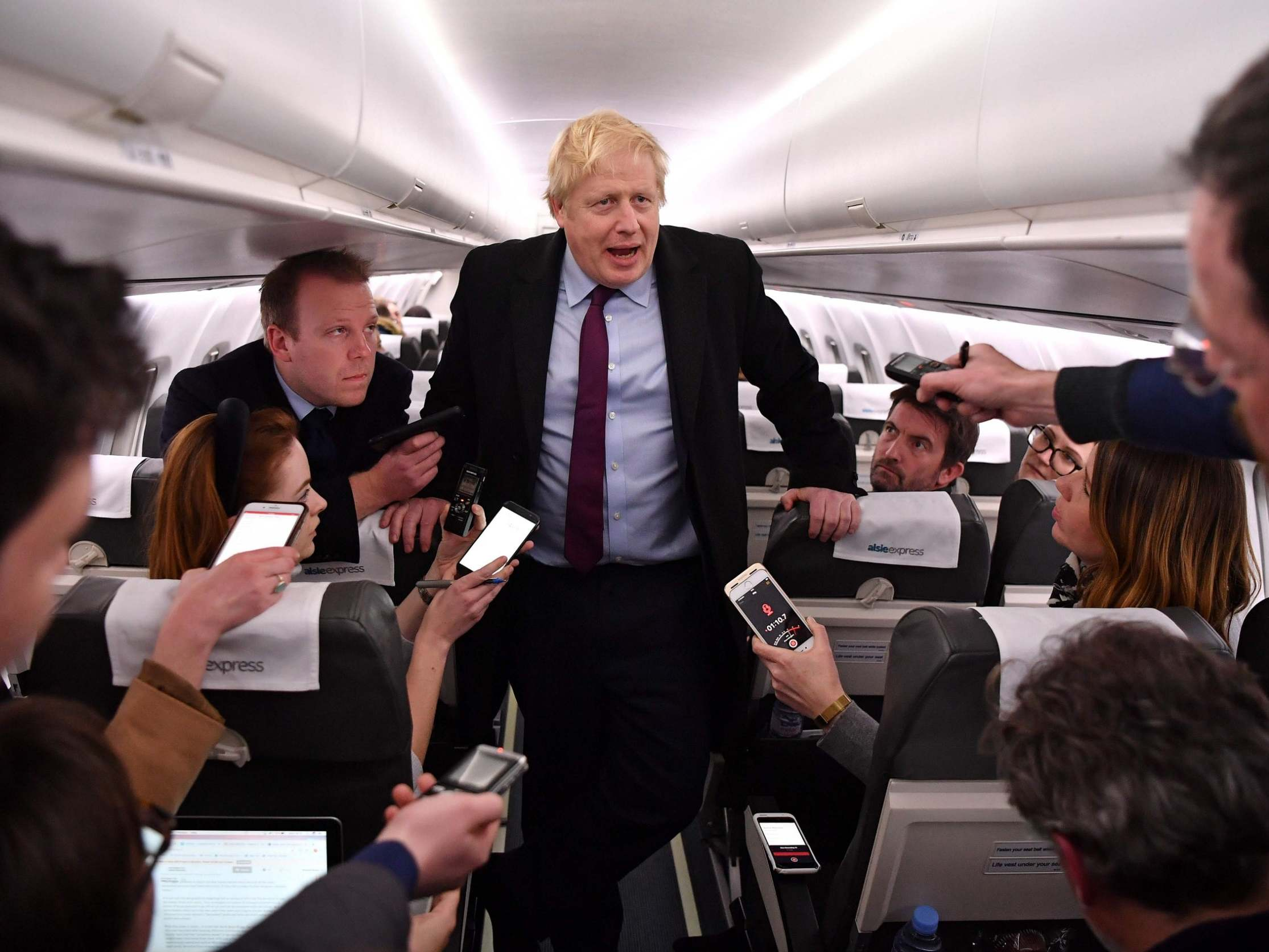 General election news – live: Boris Johnson 'did not contact' family of London Bridge terror victim, as PM faces fresh accusations on NHS crisis
