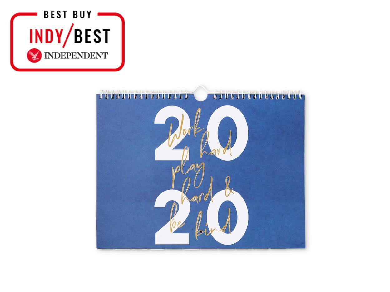 Wall Size Julia Child 2020 Kitchen Calendar New Spiral Bound