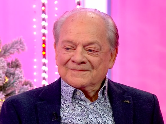 David Jason makes One Show hosts squirm with 'bend down' innuendo
