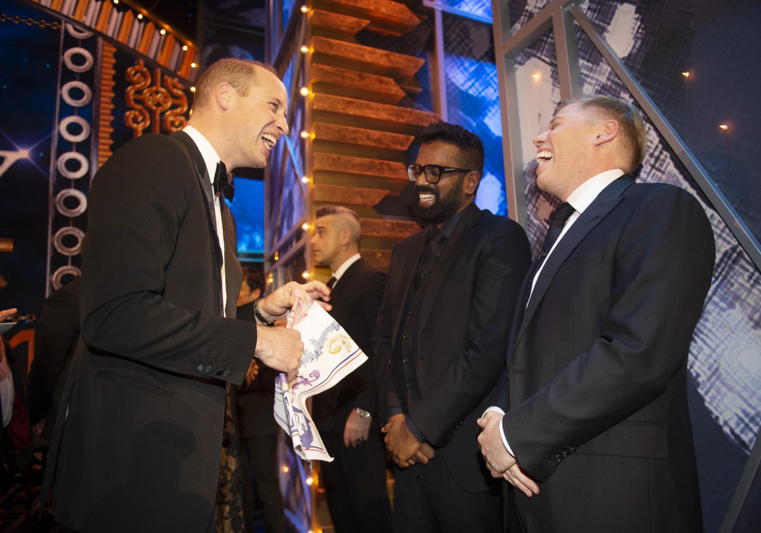 Romesh Ranganathan mocks Prince William and Kate Middleton for havin…