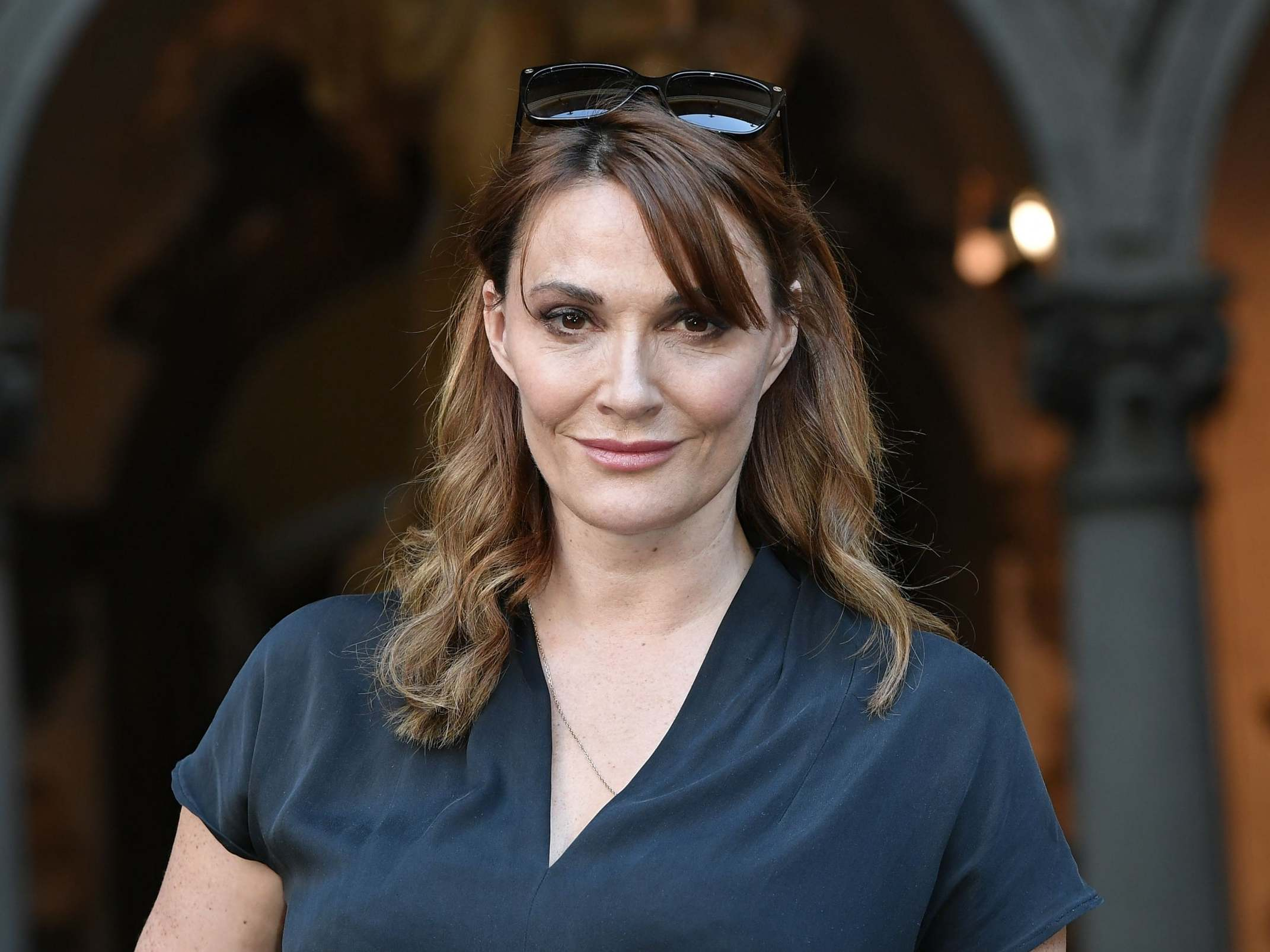 Sarah Parish I Have A Look About Me That Says Death I M Not A Fluffy Bunny The Independent The Independent