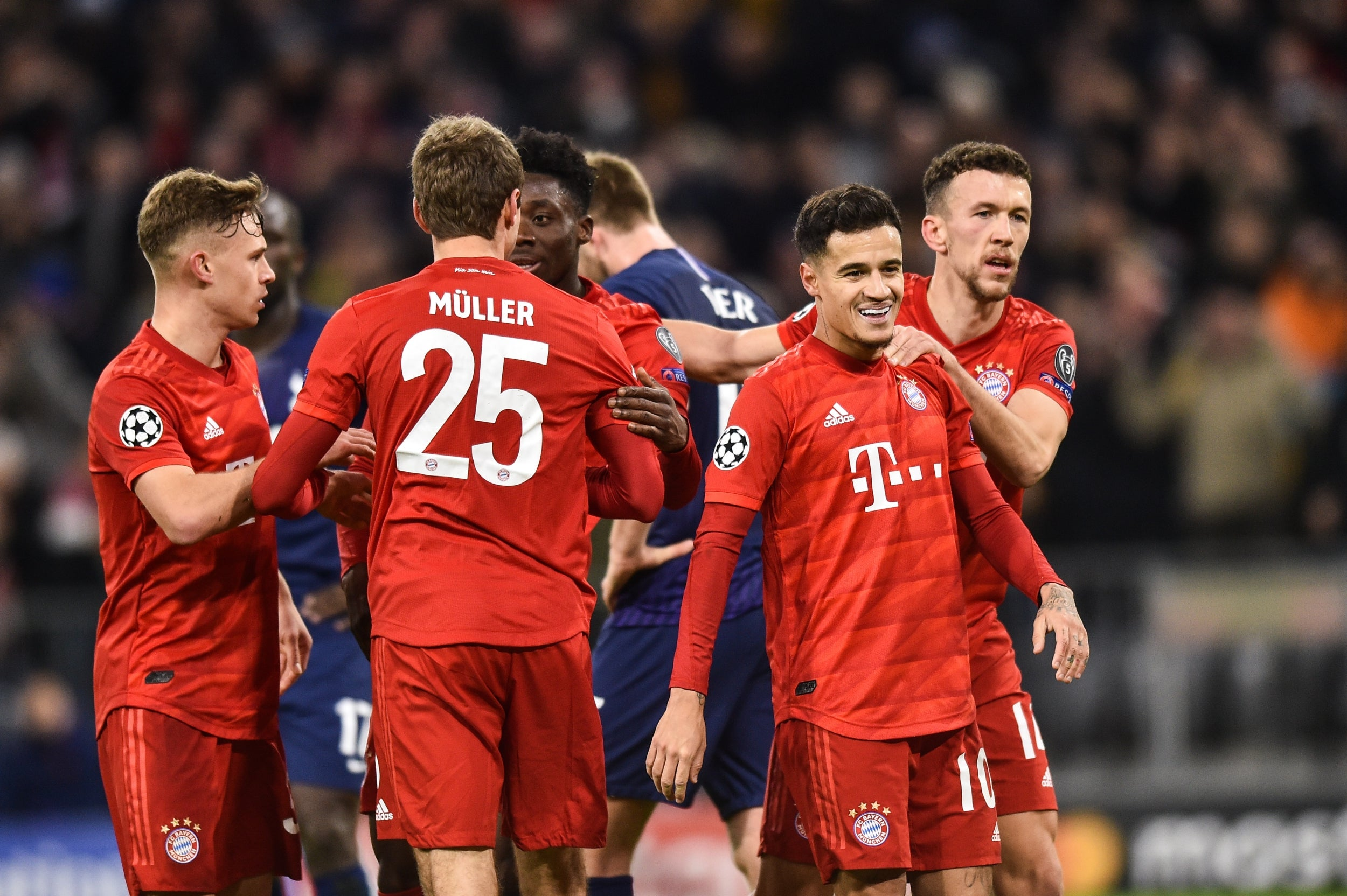 Bayern vs Tottenham: Player ratings