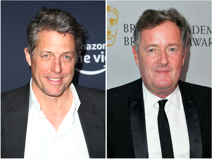 Hugh Grant and Piers Morgan in vicious Twitter row over general election, sex worker and phone hacking