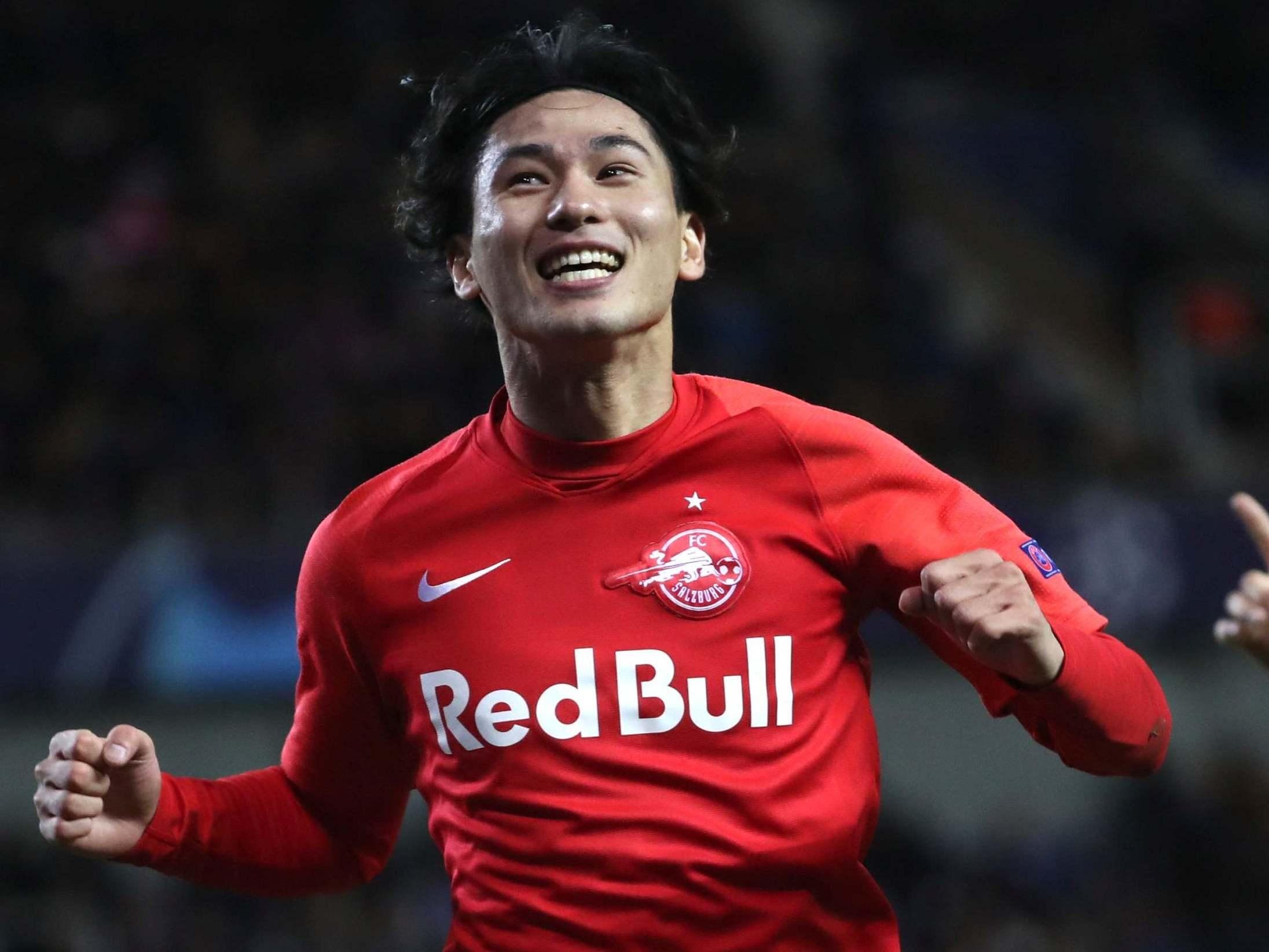 Takumi Minamino: Liverpool agree January transfer deal for RB Salzburg attacker