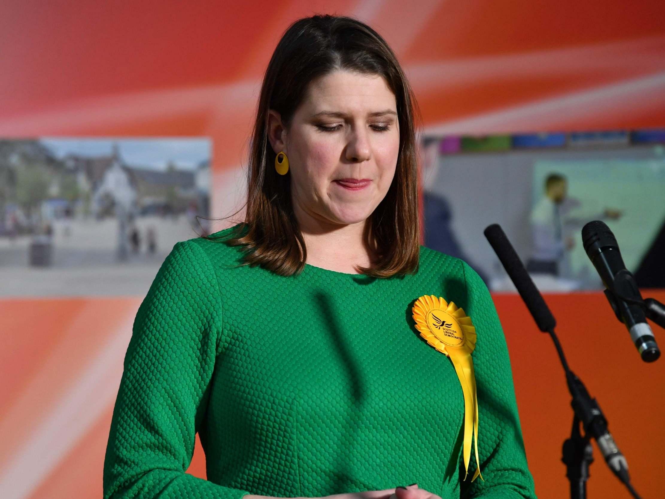 Lib Dem leader Jo Swinson loses her seat