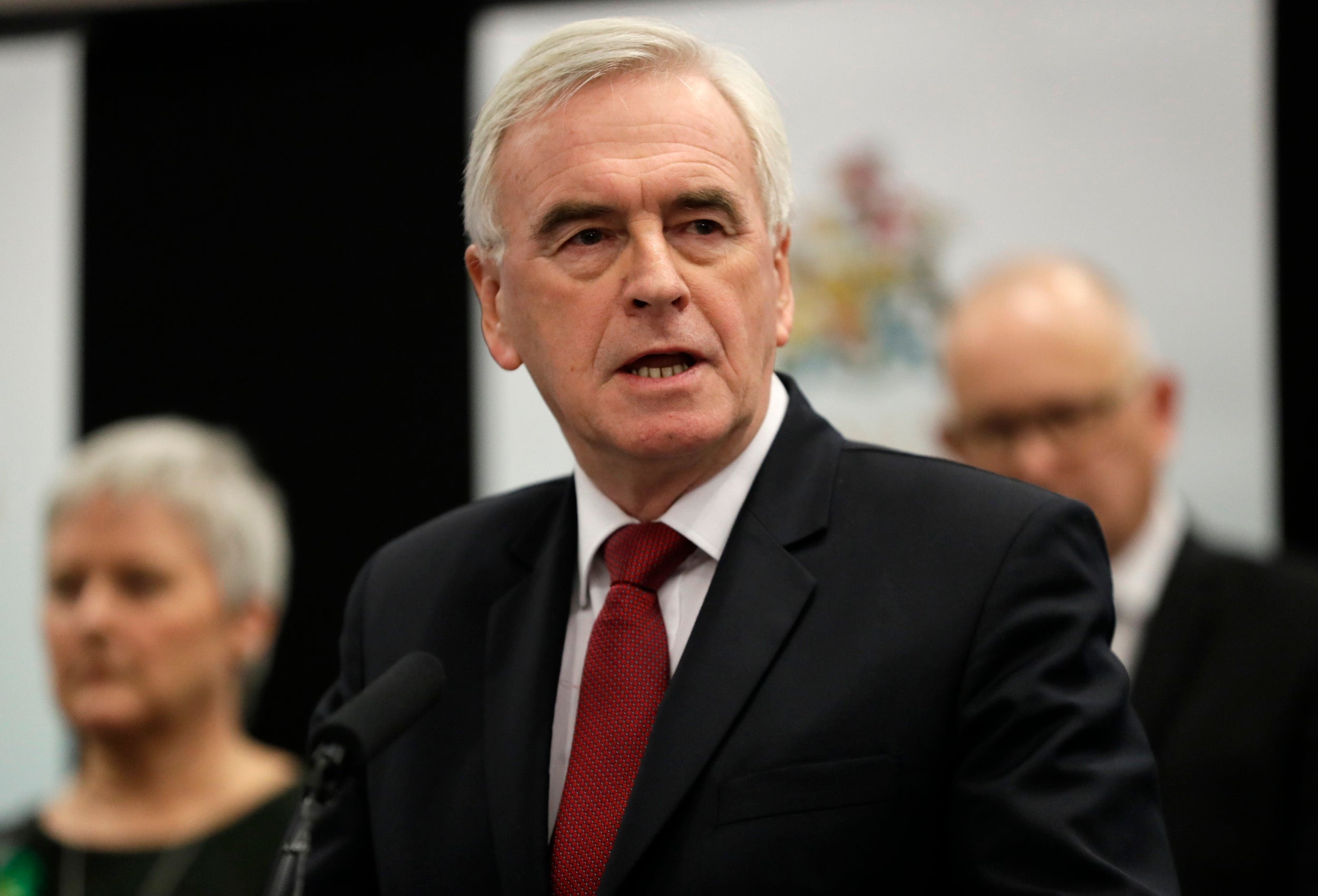 'We'll all go now': John McDonnell to stand down from Labour front line politics