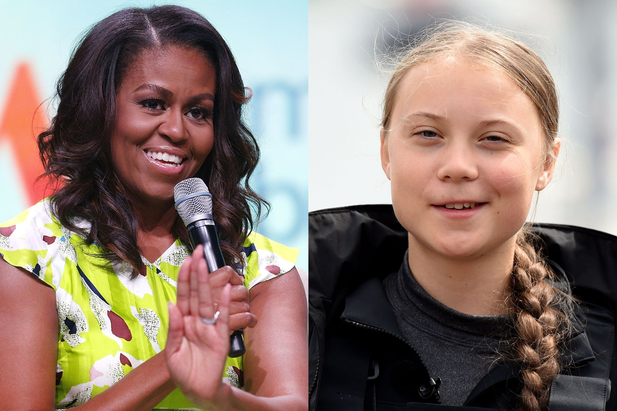 Michelle Obama supports Greta Thunberg after Donald Trump attacks teen activist