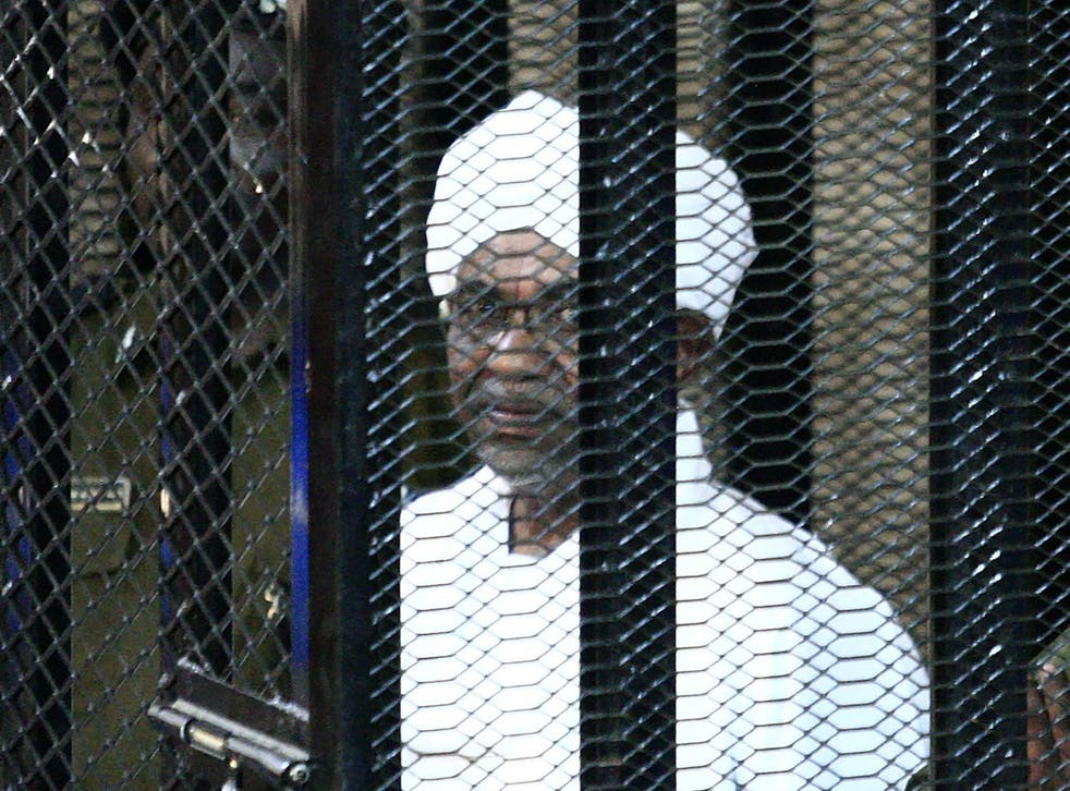 Bashir was sentenced on corruption charges at the weekend