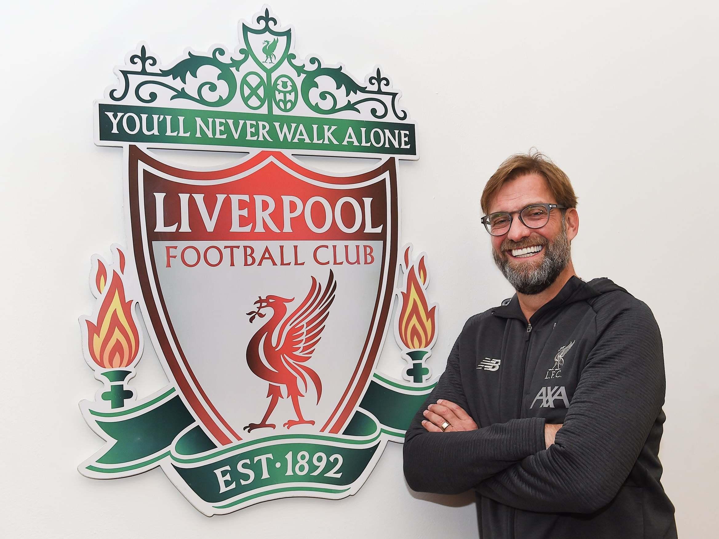 Jurgen Klopp: Liverpool manager extends contract until 2024