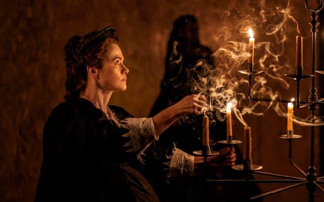 Abigail Cruttenden: compellingly querulous as the middle-aged Elizabeth