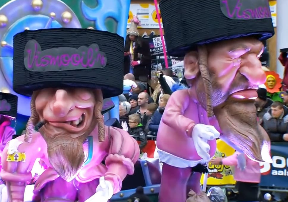 Racist Belgian Carnival Which Mocks Jews Removed From Unesco