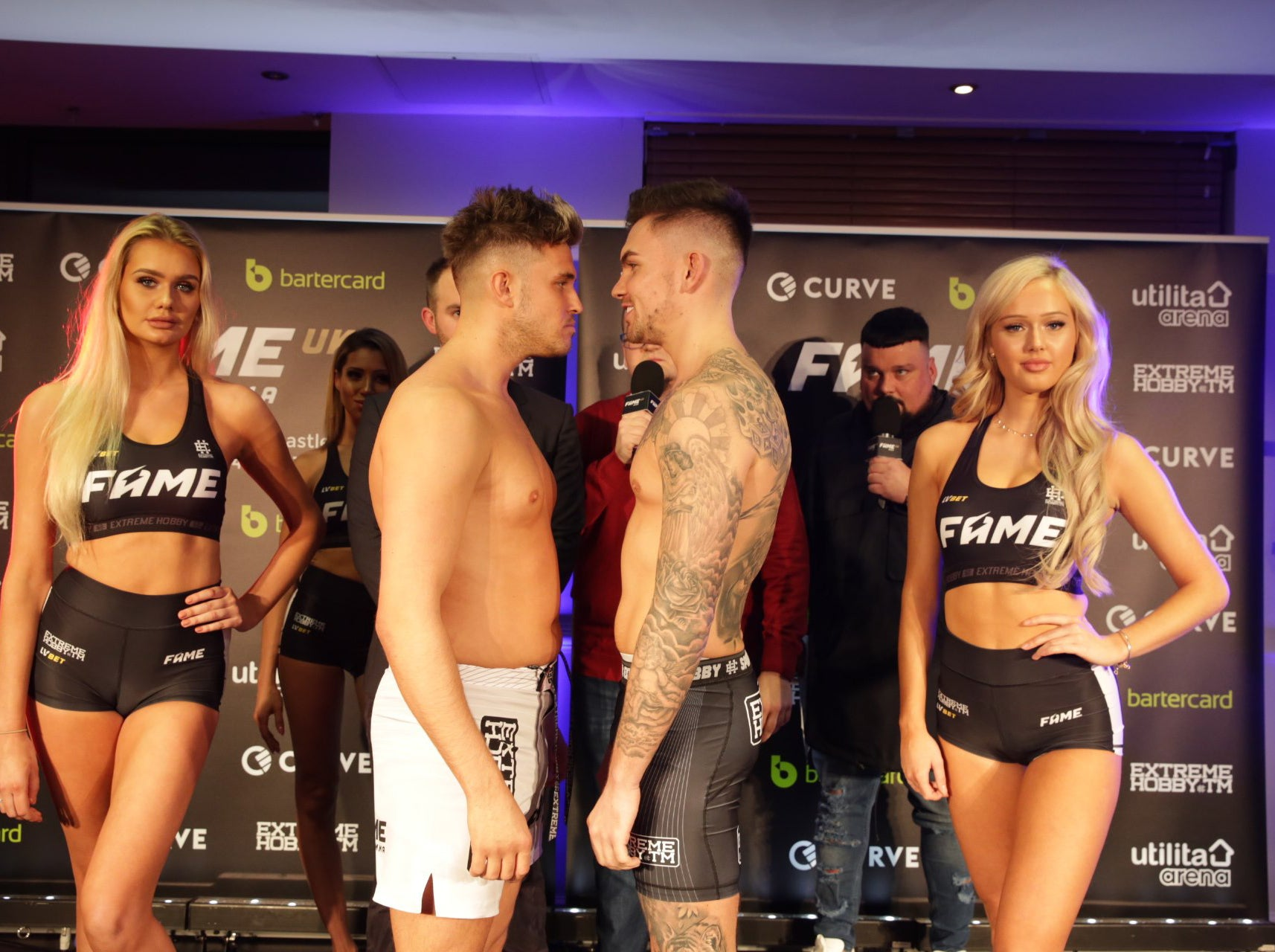 FAME MMA UK LIVE: Stream, fight start times, TV channel, pay-per-view and undercard results