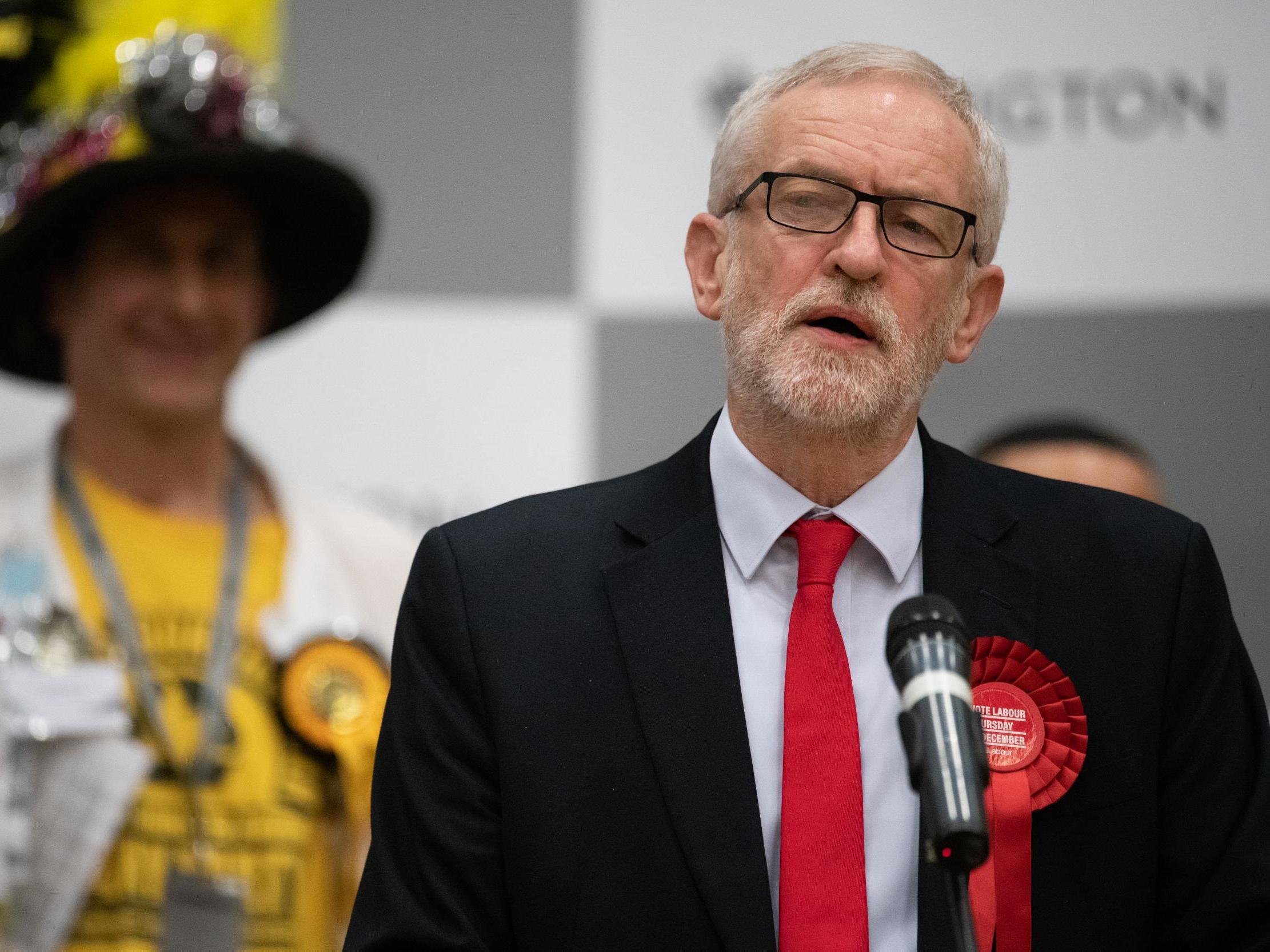 Election results – live: Corbyn condemned for newspaper non-apology as Johnson talks up a 'Whitehall revolution'