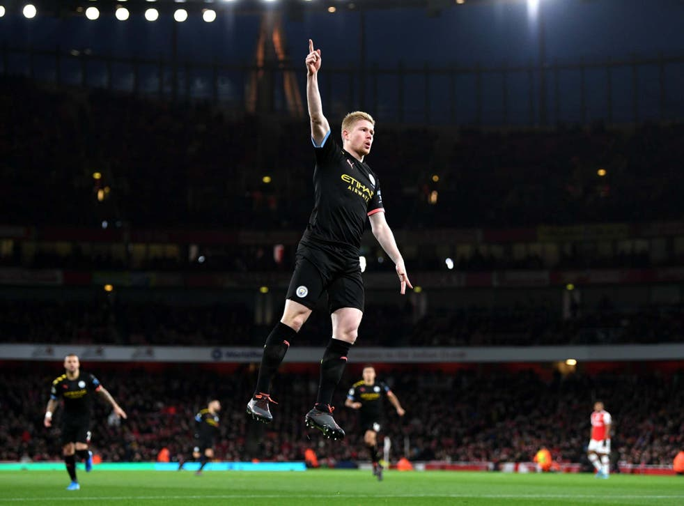 Kevin De Bruyne produced one of the season's outstanding solo displays
