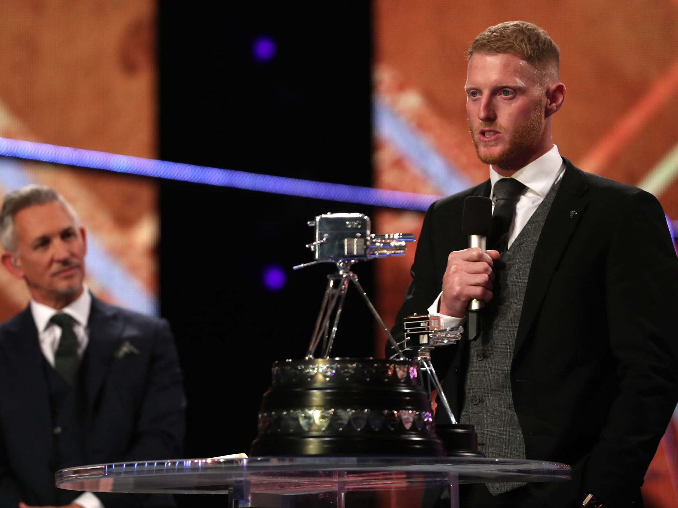 Sports Personality of the Year award: Ben Stokes crowned 2019 winner after England's World Cup glory