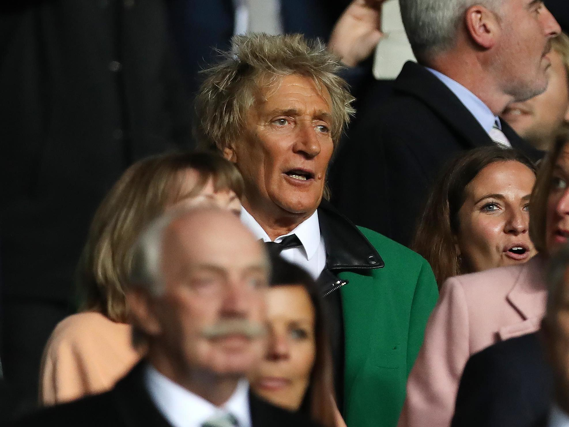 Rod Stewart sent message by Celtic fans after he congratulated Boris Johnson on election win