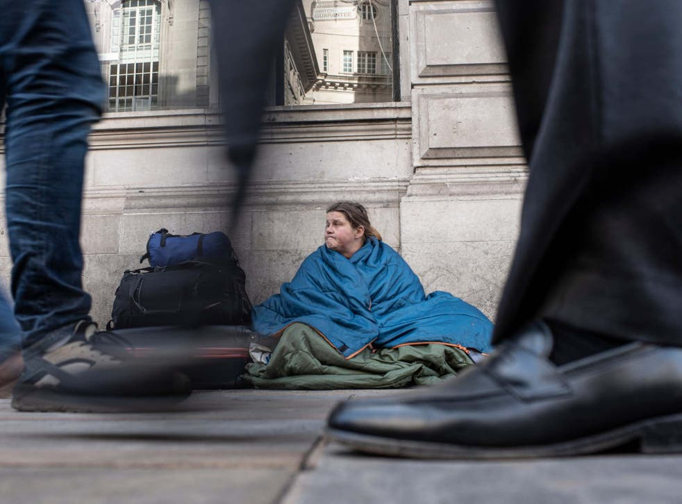 Government data reveals number of sick and disabled people whose local council have been unable to help prevent or relieve their homelessness under the Homelessness Reduction Act (HRA) and now are classed as priority need for housing has surged from 580 t