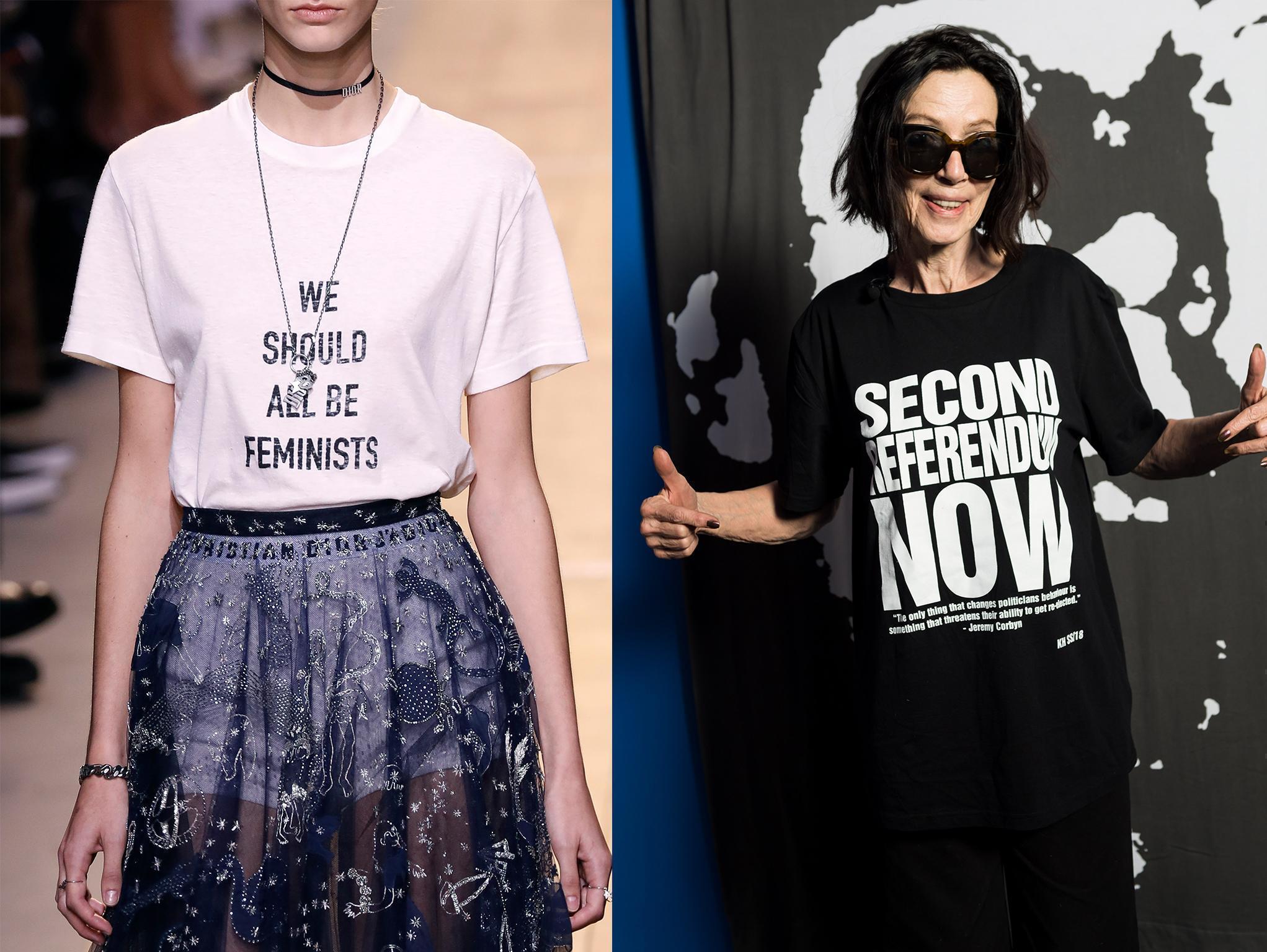 T-shirts got political