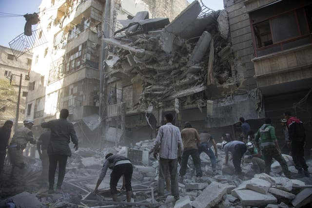 The WHO has warned if the bombing and conflict continues a further 42 health facilities in and around Idleb are at risk of suspending their services