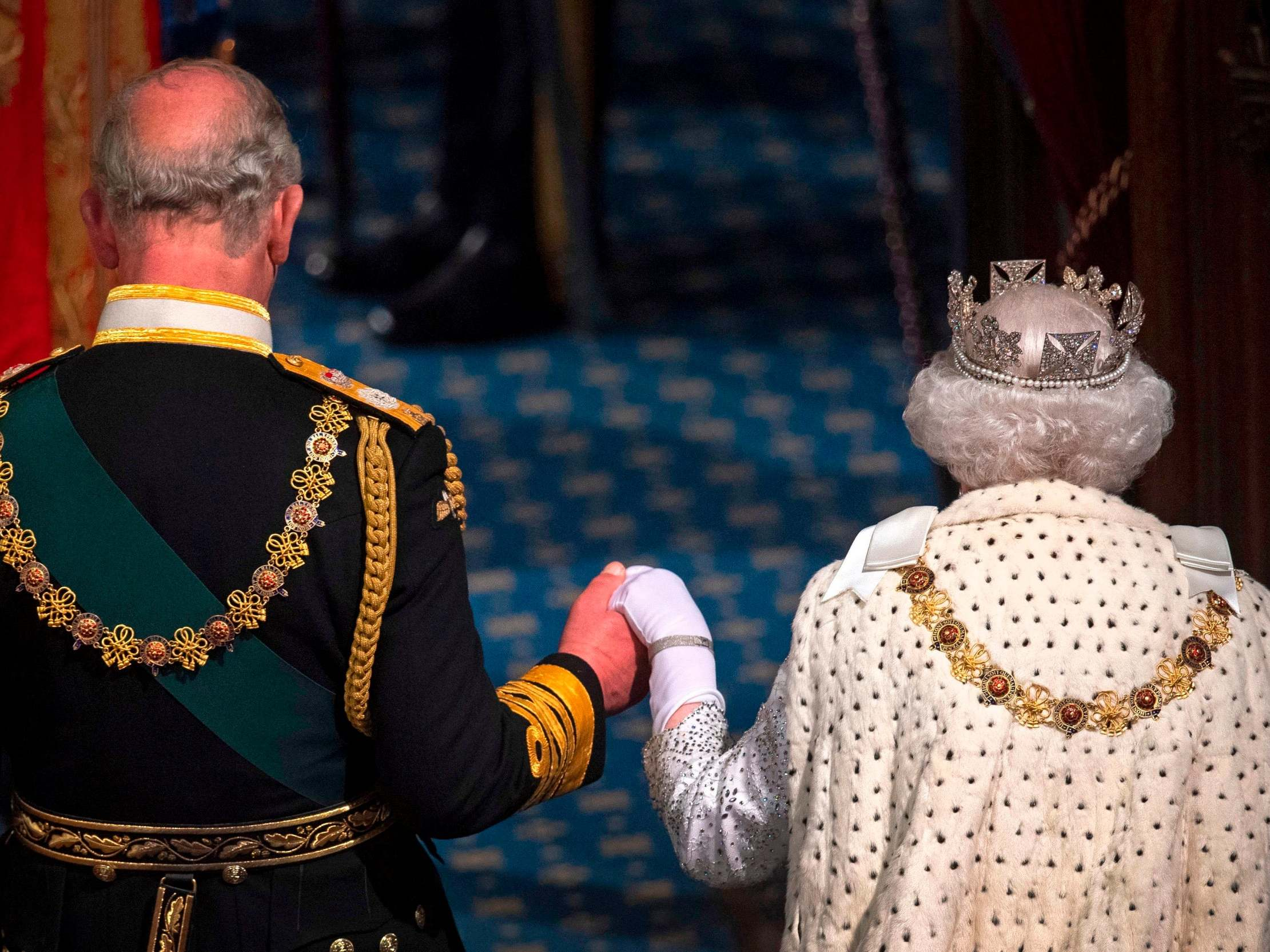 The News Plug Queen Big funding boosts for NHS and new laws to send terrorists to prison for longer at heart of Queen's Speech