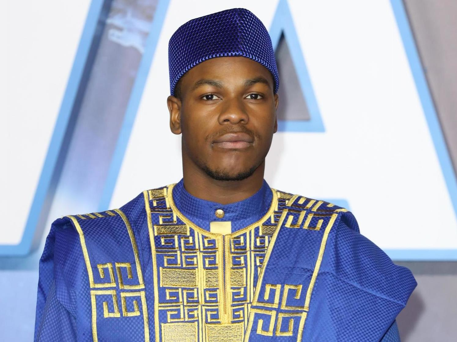 Star Wars: John Boyega wears traditional dress at Rise of Skywalker premiere