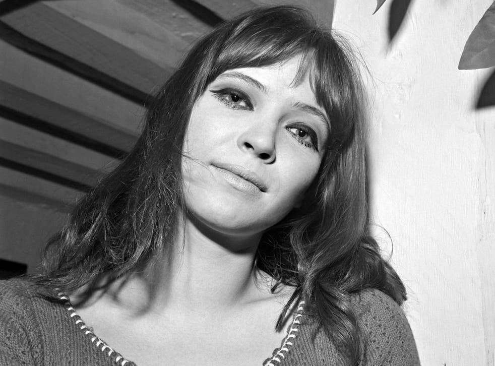 Karina (pictured in 1966) also enjoyed a successful singing career