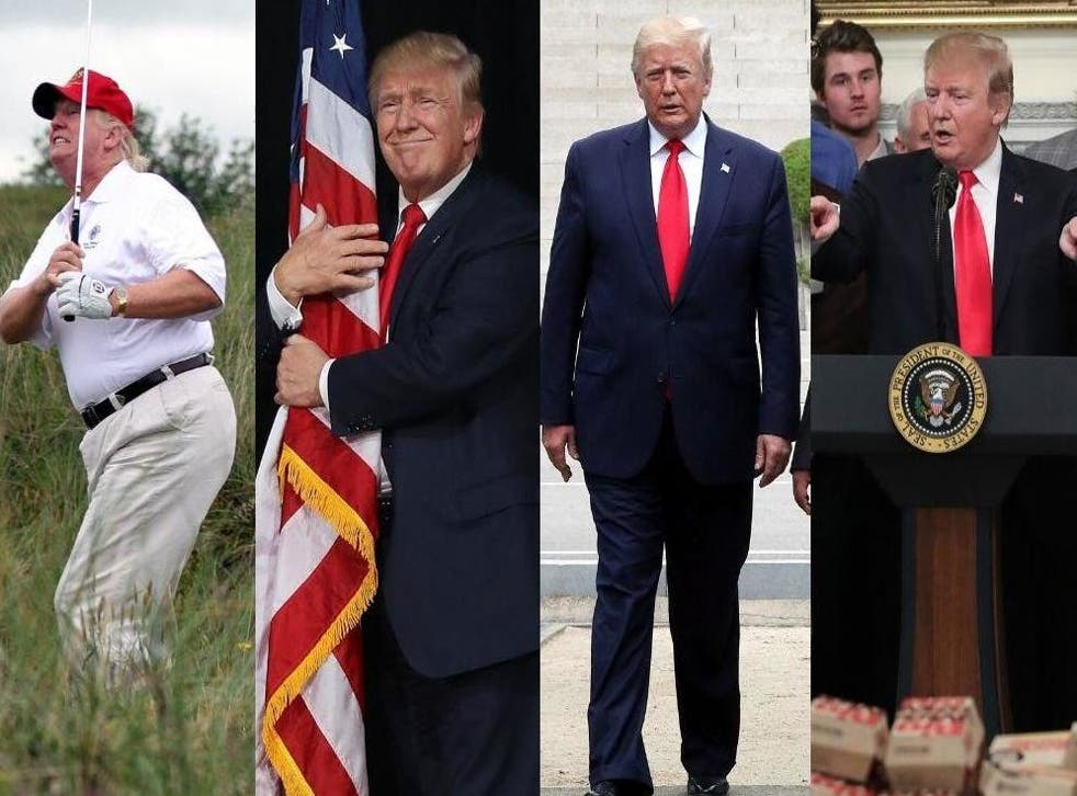 Some of Donald Trump's biggest moments in 2019
