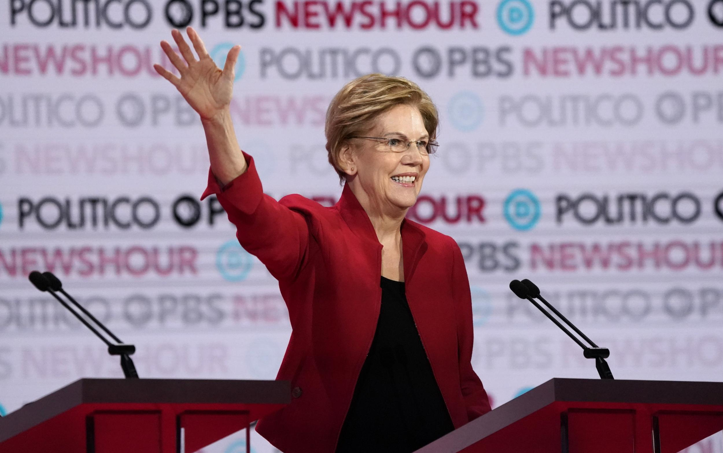 Democratic debate: Warren says she'd be youngest woman president if elected