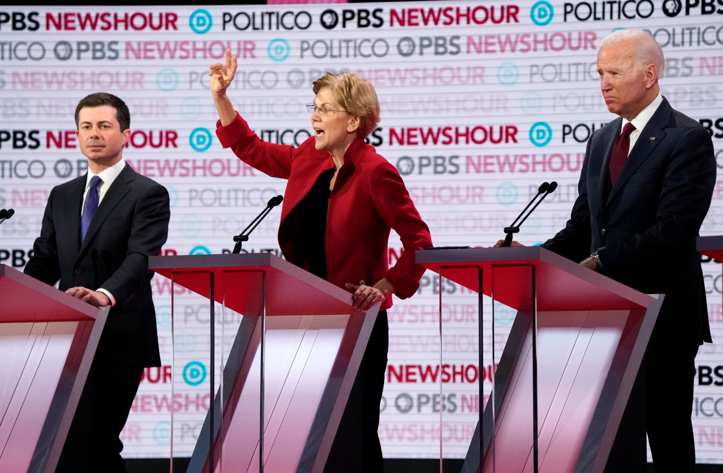 There were a number of winners in December's Democratic debate — but only one clear loser