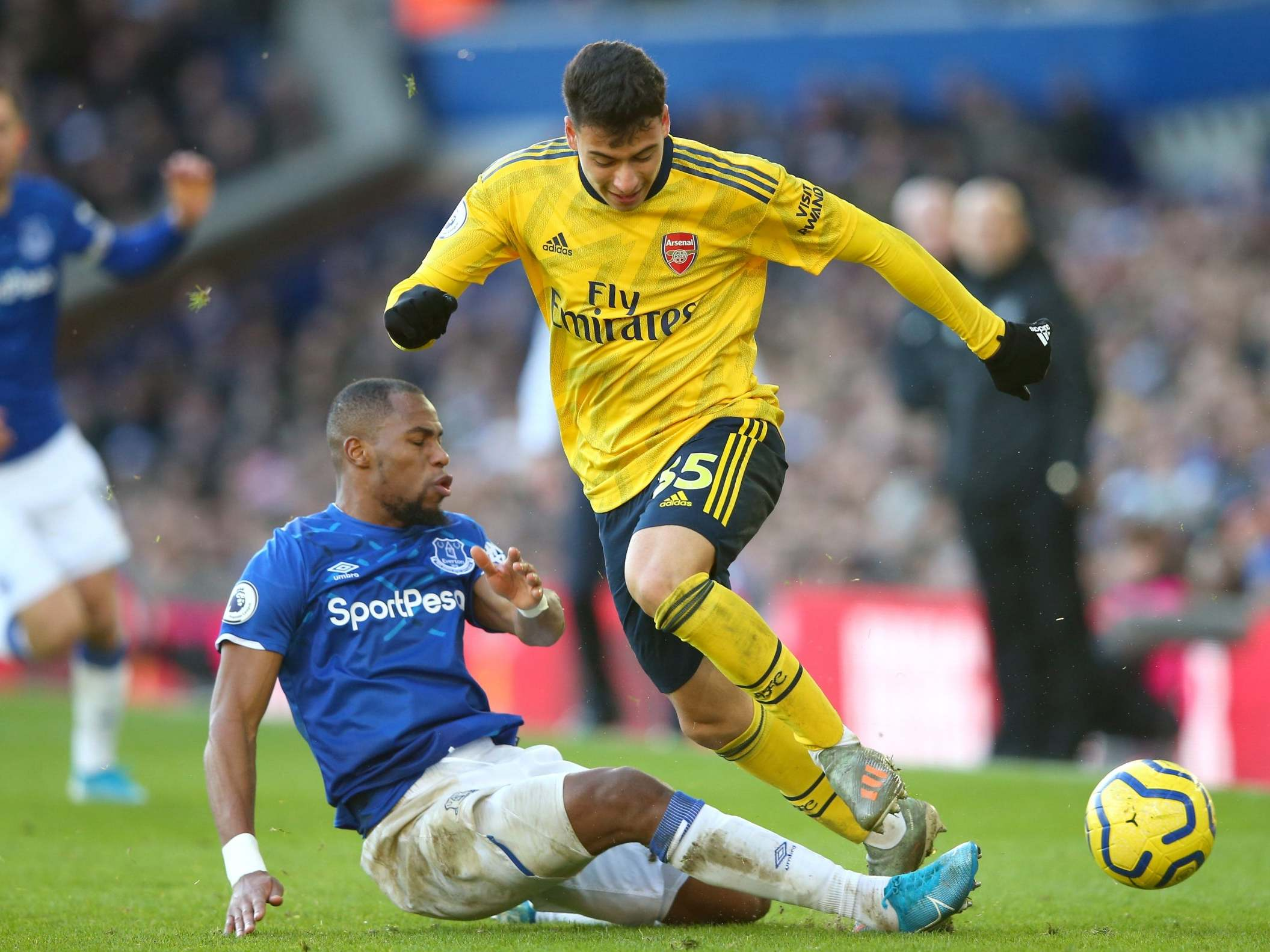 Everton vs Arsenal player ratings | The Independent