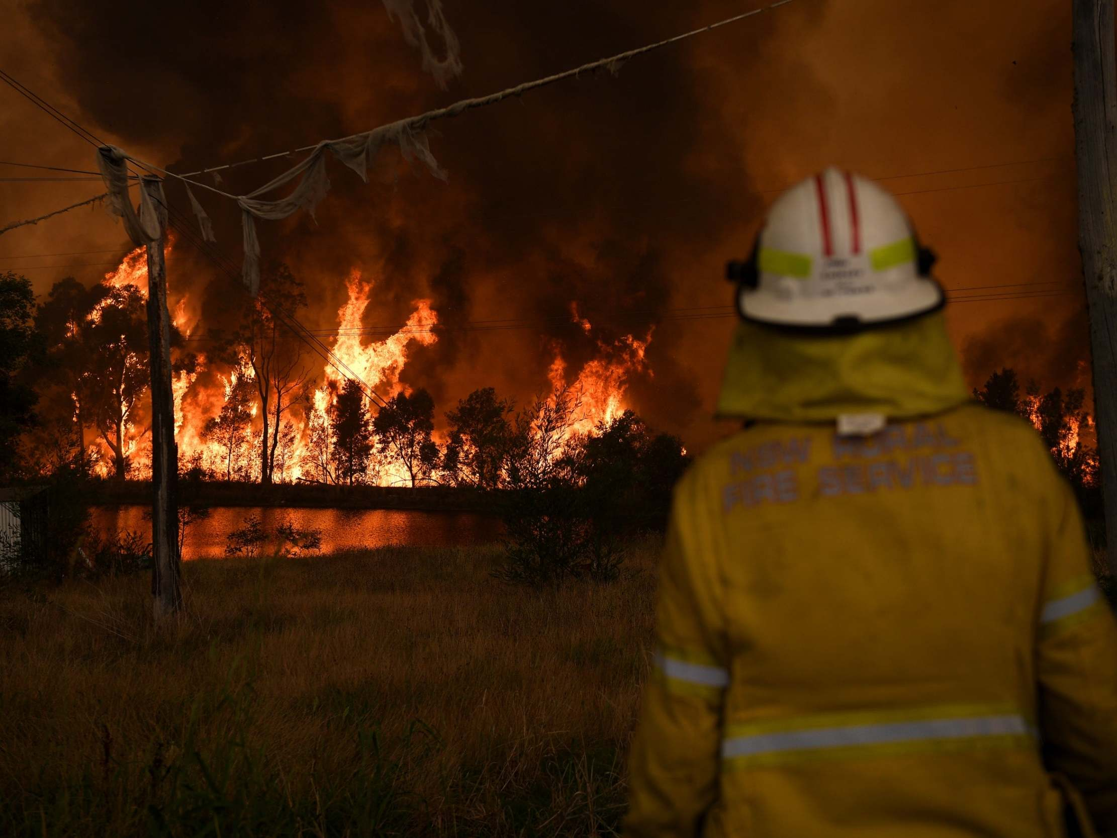 'I get it that people would have been upset to know that I was holidaying with my family,' says Scott Morrison as home state burns